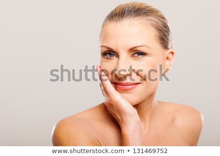 Glamour makeover for a beautiful woman Stock photo © stryjek