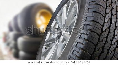 Car tyres Stock photo © photohome