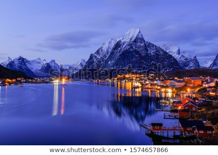 reine on the lofoten stock photo © ildi