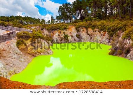 Waimangu in color Stock photo © Hofmeester