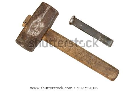 old hammer stock photo © ozaiachin