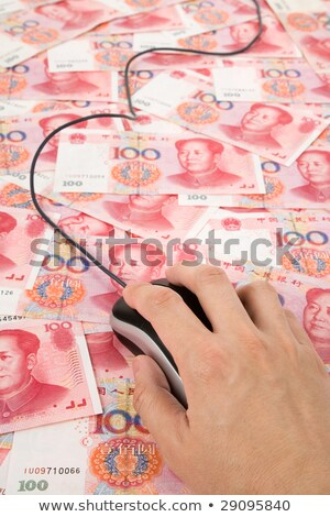 Chinese Yuan and Computer Mouse Stock photo © devon
