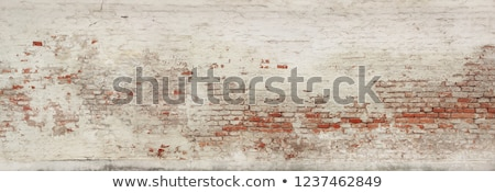 Old dilapidated rough brick wall Stock photo © pzaxe