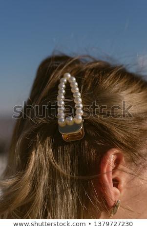 genç · sarışın · kadın · sihir · makyaj · dalgalar - stok fotoğraf © victoria_andreas