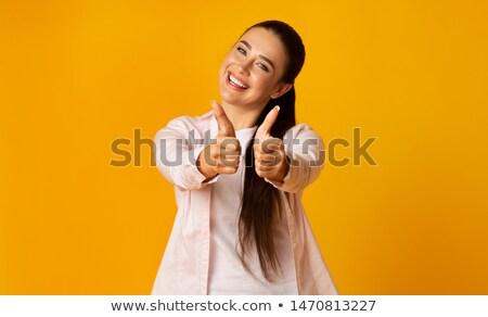 оба молодые деловая женщина бизнеса Сток-фото © wavebreak_media