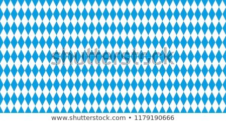 checkered blue flag Stock photo © nicemonkey