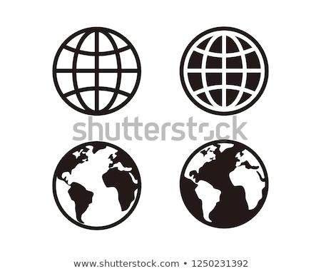 WWWを 世界中 実例 書かれた コンピュータ デザイン ストックフォト © vectomart