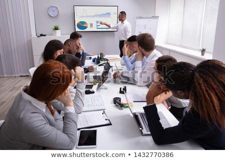 長い 会議 アジア 女性 着用 ビジネス ストックフォト © tab62
