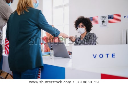 Voting And Democracy Stock photo © Lightsource