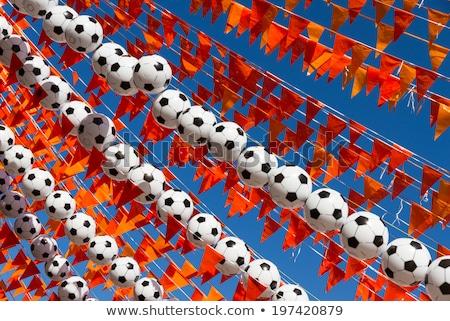 футбола цель Увеличить эффект Сток-фото © ABBPhoto