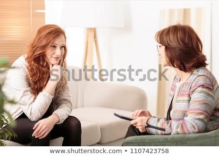 Woman at therapy Stock photo © wavebreak_media