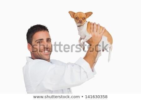 幸せ 獣医 アップ 犬 肖像 ストックフォト © wavebreak_media