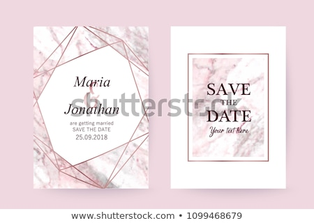 Background  with precious stones, gold pattern for invitation Stock photo © yurkina