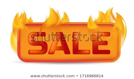 ベクトル 火災 ボタン 鋼 花火 難 ストックフォト © rioillustrator