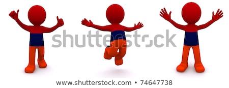 3D bandeira Armênia isolado Foto stock © Kirill_M