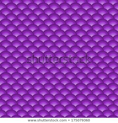 Sfondo 3D concentrico tubi pattern viola Foto d'archivio © Melvin07