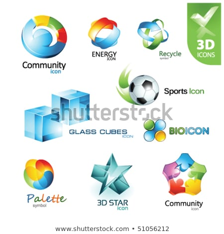 icons for web design set 14 stock photo © smoki