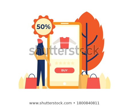 a woman with laptop in park ui Stock photo © toocan
