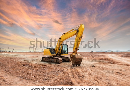 Yellow earth mover  Stock photo © c-foto