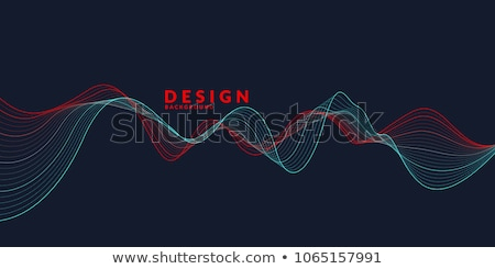colorful musical wave background stock photo © rioillustrator