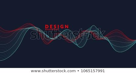 Coloré musical vague design amis hommes Photo stock © rioillustrator