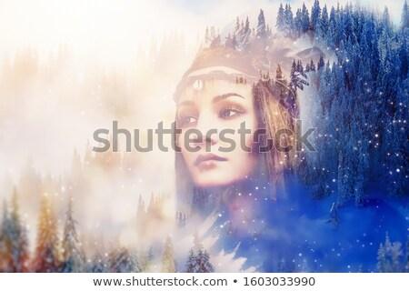 снега · ангела · свежие · белый - Сток-фото © nejron