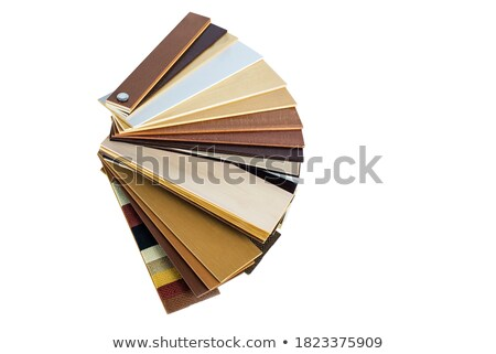 Wood texture swatches for a home interior with window Stock photo © pugovica88