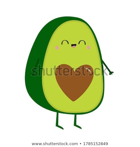 cebolas · cortar · vegetal · fatia · comida - foto stock © kali