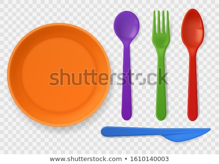 Picnic Dishware Stock photo © zhekos