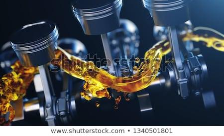 мотоцикл · двигатель · кадр · окна · кафе - Сток-фото © simazoran