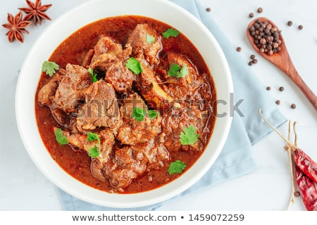 Mutton stew Stock photo © Makse