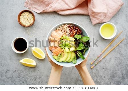 Азии · продовольствие · хлеб · бамбук · азиатских - Сток-фото © m-studio