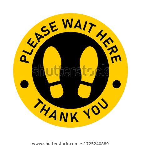 Info giallo vettore icona design digitale Foto d'archivio © rizwanali3d