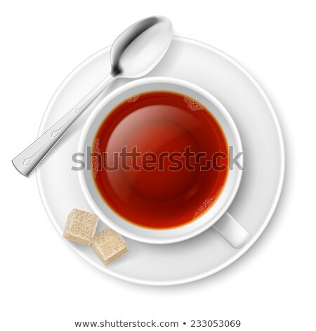one lump sugar on a spoon Stock photo © Rob_Stark
