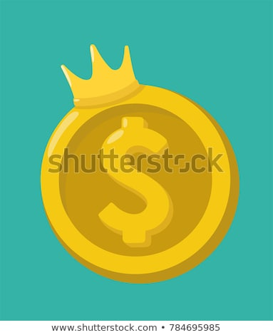 king of business concept. US dollars Stock photo © alexmillos