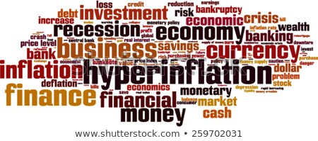 Hyperinflation word cloud Stock photo © tang90246