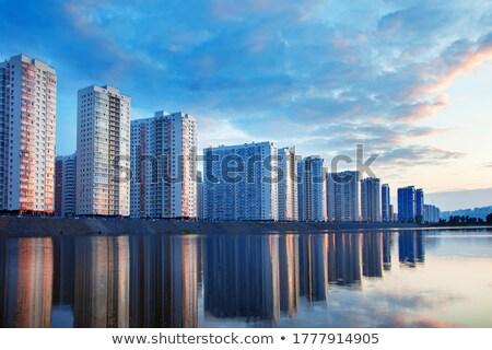 Touristiques complexe mer morte ciel eau paysage Photo stock © OleksandrO