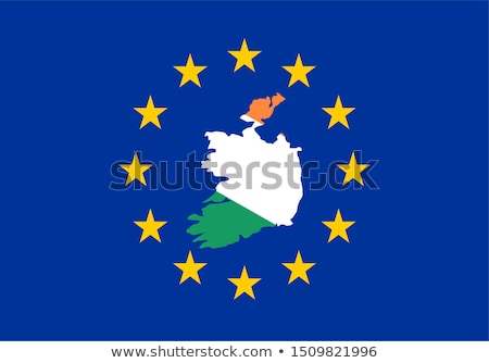 england and european union flags in puzzle stock photo © istanbul2009