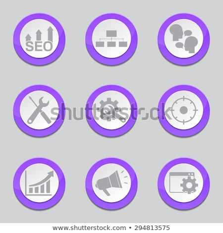 Seo Internet signo violeta vector botón Foto stock © rizwanali3d