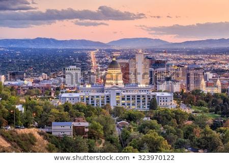Utah state capitol building in Salt Lake City Stock photo © AndreyKr