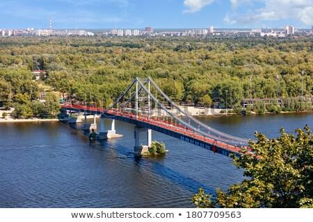 Kyiv bridges overview, Ukraine Stock photo © joyr