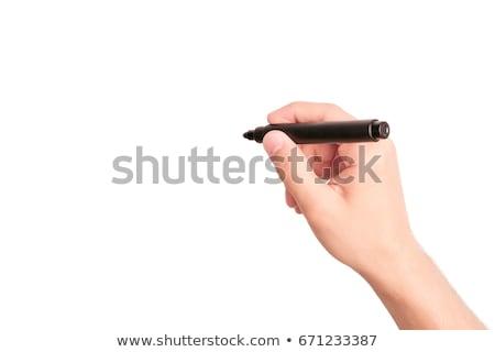 man felt-tip pen Stock photo © Paha_L