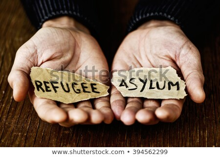 Refugee seeking asylum in foreign country Stock photo © stevanovicigor