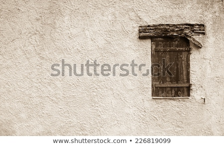 Weathered colorful mediterranean town building facades Stock photo © stevanovicigor