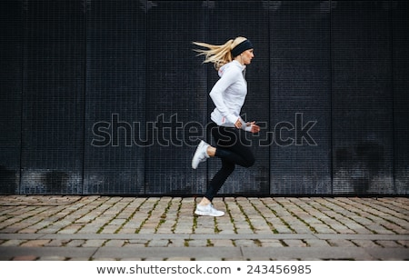 health conscious concept sporty woman Stock photo © adrenalina