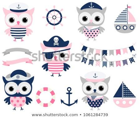 Stock photo: Pirate girl theme image 1