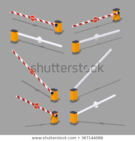Open Closed Barrier Stock photo © unkreatives