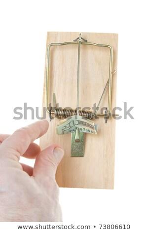 折られた 20 20 ドル 法案 孤立した ストックフォト © Qingwa