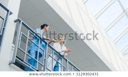 verpleegkundige · arts · vrouwen · wetenschap · stethoscoop - stockfoto © is2