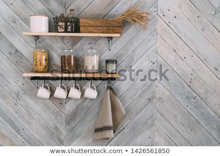 подвесной крюк белый стены металл Сток-фото © wavebreak_media